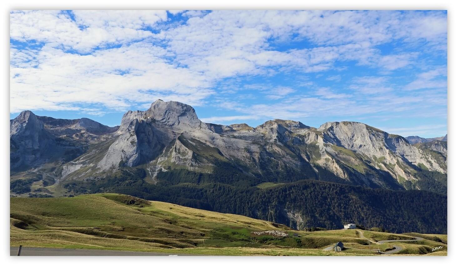 Sur la route du Col d'Aubisque (Hautes-Pyrénées - Septembre 2016)