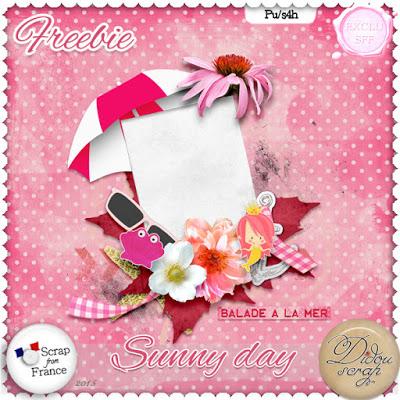 Kit Sunny Day de Didou scrap