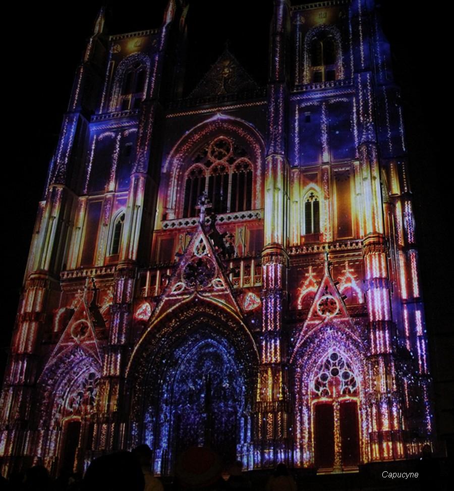 Douceurs nocturnes sur la Cathédrale de Nantes