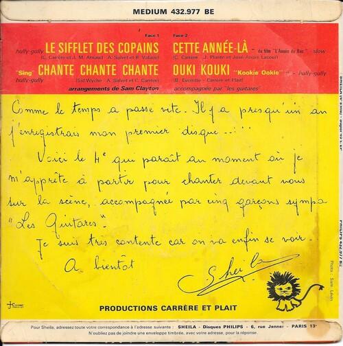Sheila - Le Sifflet Des Copains (1963) 02