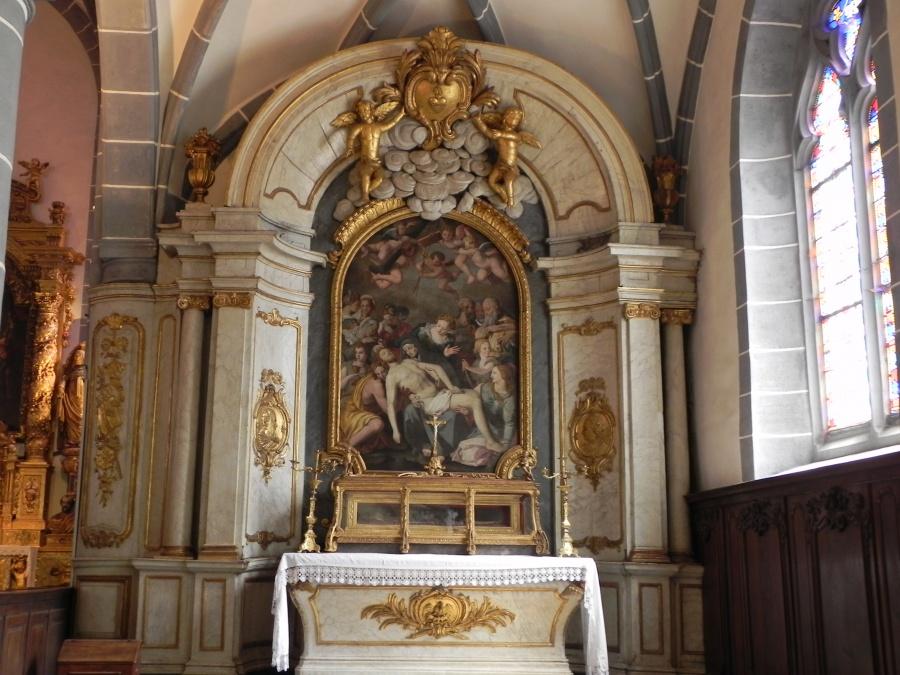 L'église Saint Laurent d'Ornans sur Loue