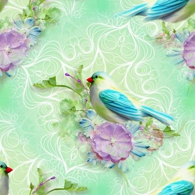 Textures sans bord nature fond vert