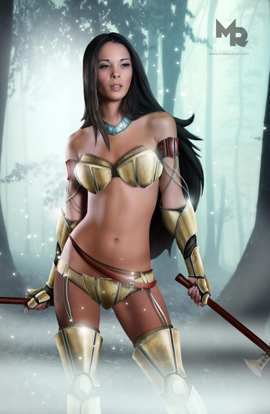 Sexy warrior babes hentai movies