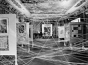 A+Mile+of+String+Marcel+Duchamp+1942