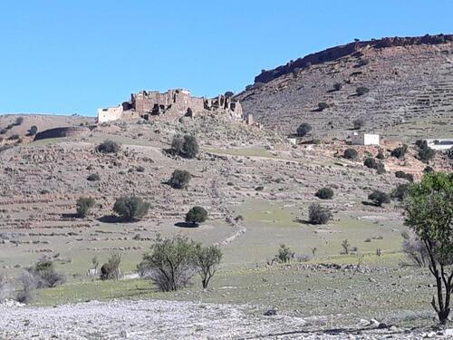 La casbah Tizourgane