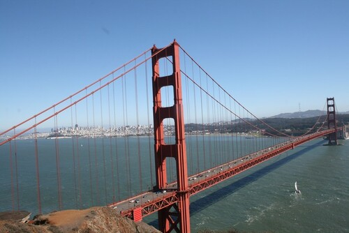 16 septembre: Retour sur San Francisco, Golden Gate Bridge et Conclusion