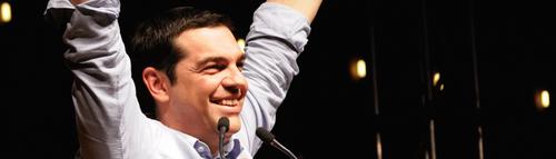 Les discours de Tsipras et le programme de Syriza