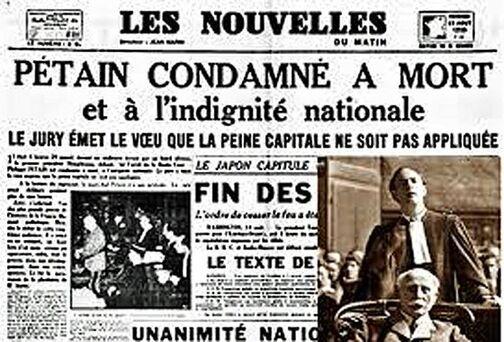 L'Elysée ne rendra finalement pas hommage au…Maréchal Pétain (RP