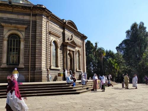 l'église St Georges à Addis Ababa