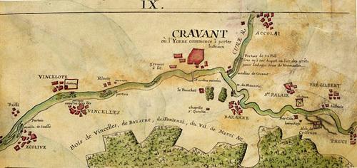 FLOTTAGE sur l'Yonne ( 3éme partie )  Fin du flottage à bûches perdues sur la rivière Yonne