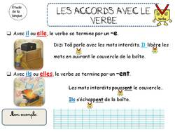 LES ACCORDS - CP