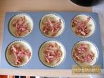 Tartelettes fondantes poireau échalote et lardons