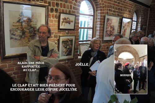 Jocelyne Decroix expose à la Chapelle d'Aix Noulette
