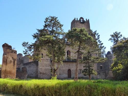 Gondar, capitale de l'Ethiopie au 17ème siècle;