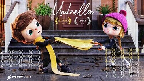 UMBRELLA, Un parapluie (film d'animation) (Belles histoires de vie)