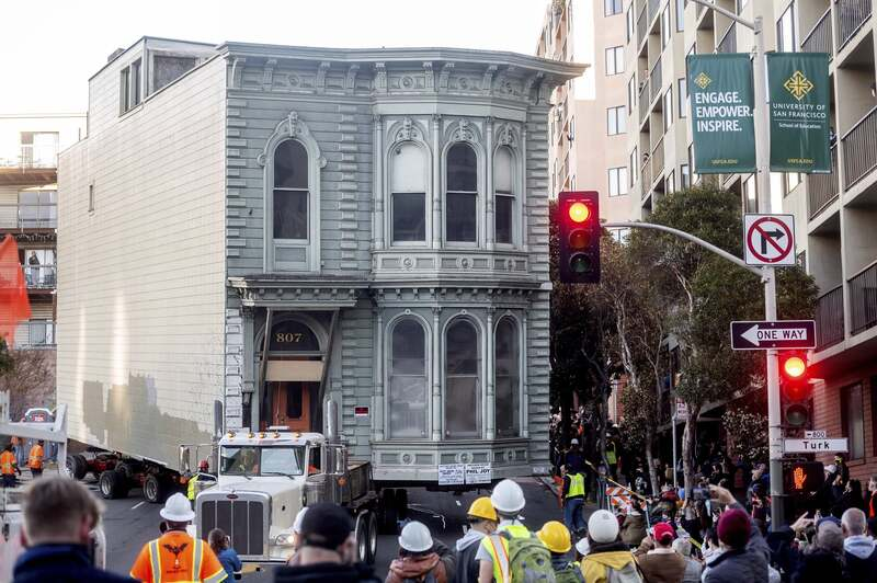 Old Victorian House - San Fancisco