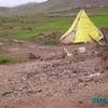 de el ksiba à azrou - une barraque de chantier en couleur