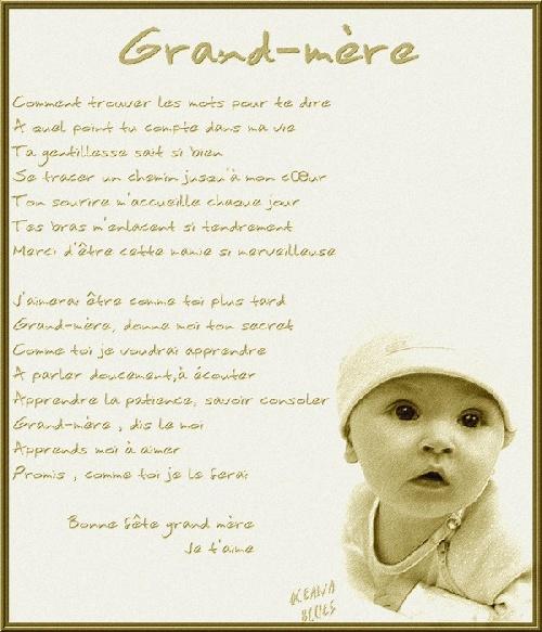 citation anniversaire grand mère