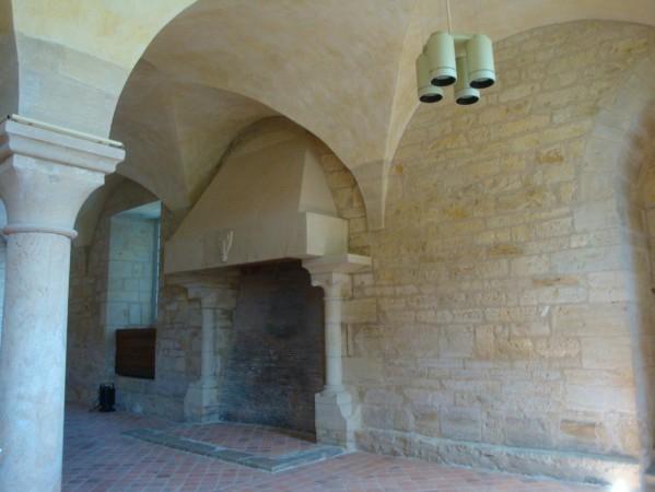Noirlac, la salle des moines
