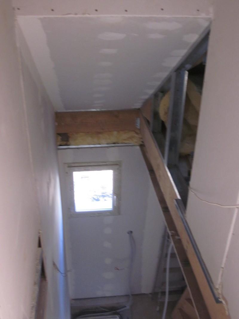 habillage de la cage d 39 escalier en placo notre deuxi me maison mikit. Black Bedroom Furniture Sets. Home Design Ideas