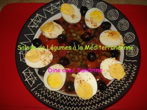 Salade de Légumes à la méditerranéenne