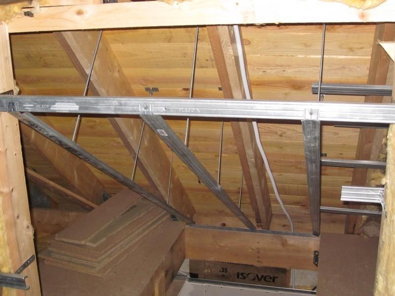 amnagement cage d escalier excellent les travaux partie i with amnagement cage d escalier. Black Bedroom Furniture Sets. Home Design Ideas