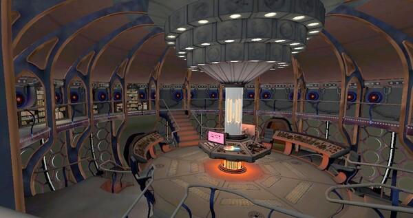 Tardis du 12e Docteur Who