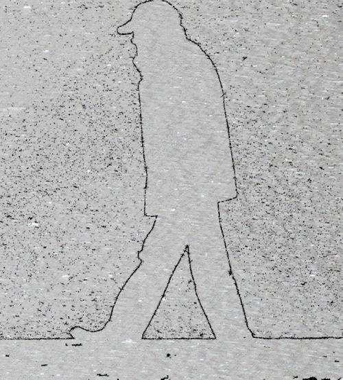 Scènes de rue - A grands pas
