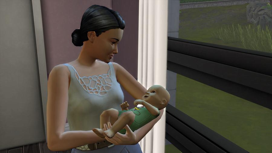 Chroniques d'Agathe : une petite surprise et Maman