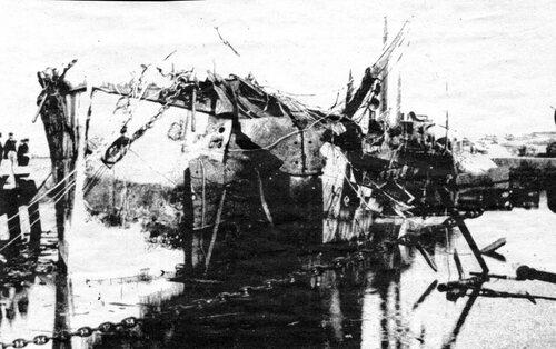 Le 16 octobre 1888, un pétrolier explosait au bassin-ouest