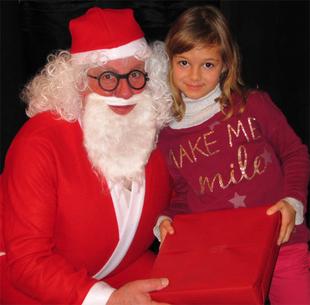 Noël avant l'heure pour les enfants du village