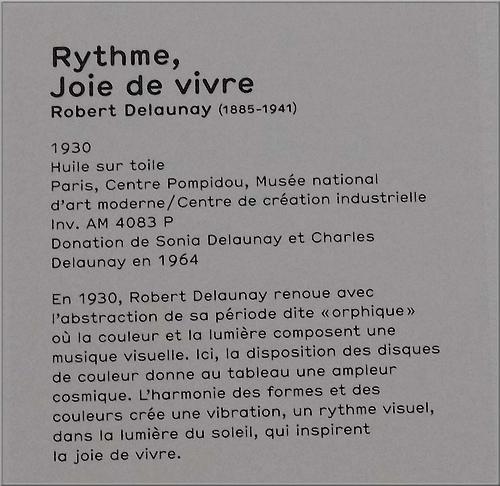 """""""Rythme, Joie de vivre"""" - R. Delaunay"""