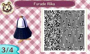 [QR code acnl] Cosplay de Rika Furude