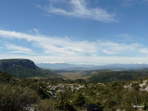 la chaîne des Pyrénées