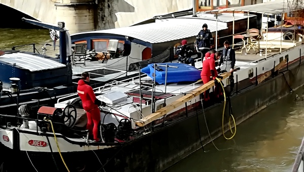 Ballade au bord de Seine