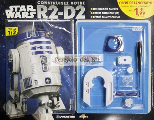 N° 1 Construire R2-D2 - Test