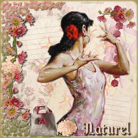 cadeau pour vos créations :cluster fleuri