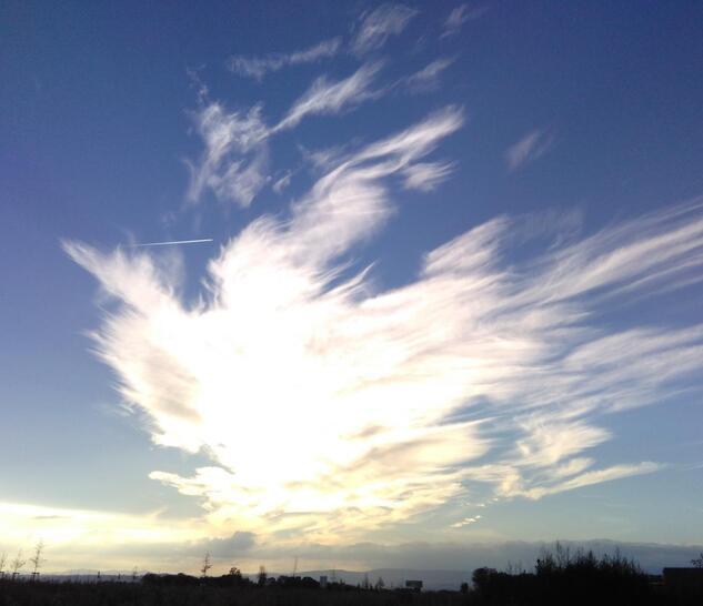 Un drôle de nuage !