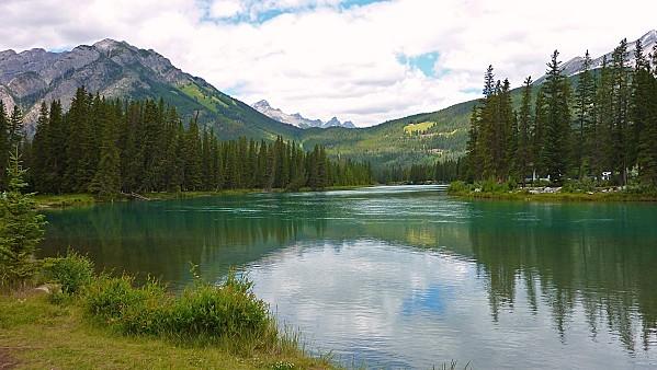 Jour 16 Banff rivière Bow