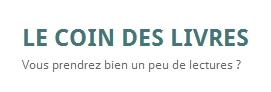 Blog Le Coin des livres