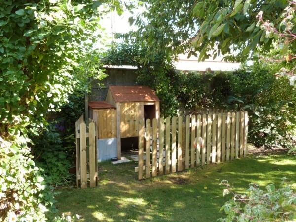 Le poulailler du chat vert pisode 8 un nouvel enclos - Empecher les chats de venir dans le jardin ...