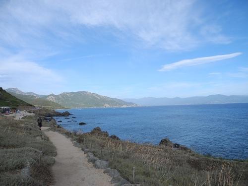 Les îles Sanguinaires début Septembre.