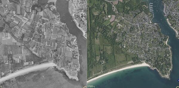 La folie de l'urbanisme : Sainte Marine de 1950 à nos jours