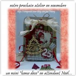 """Un atelier """"en attendant Noël"""""""