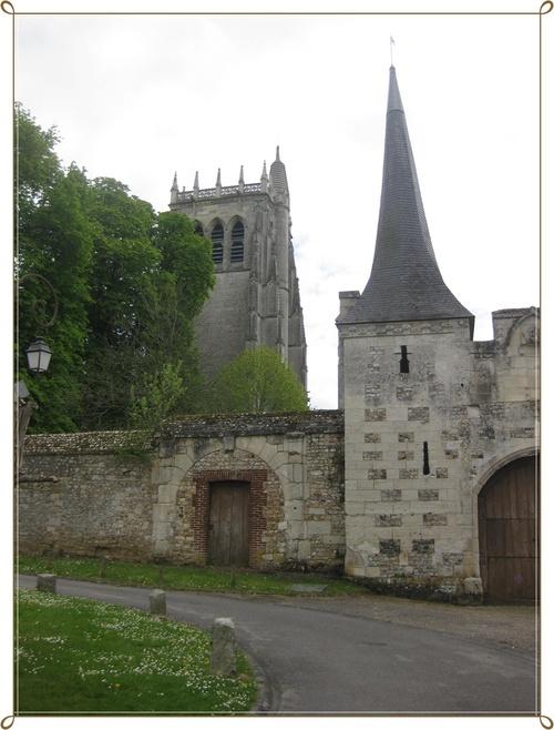 Village et Abbaye du Bec Hellouin (27)
