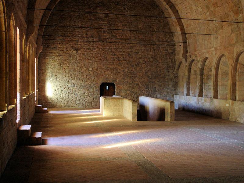 Le Thoronet : abbaye du Thoronet
