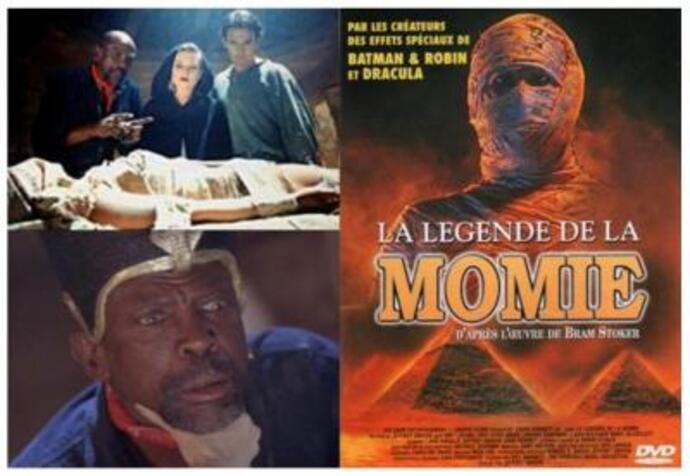 Résultats de recherche d'images pour «La Légende De La Momie (1997)»