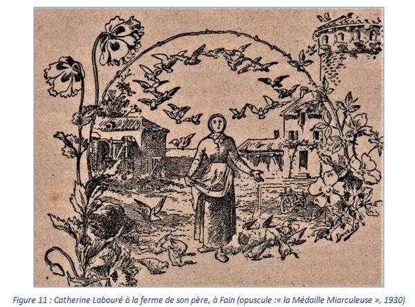 """""""La médaille miraculeuse et Catherine Labouré"""", un notule d'Histoire de Dominique Masson"""