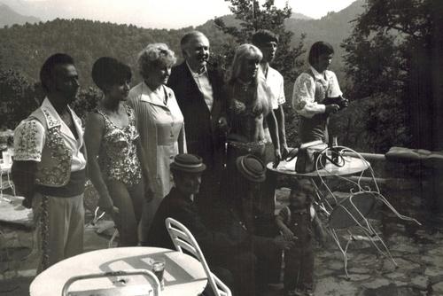 Présentation des artistes de Bulgarie, en 1978