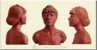 Buste de femme en terre cuite - Arts et sculpture: sculpteur portraitiste